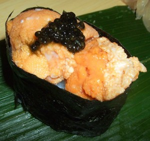 Uni with Caviar